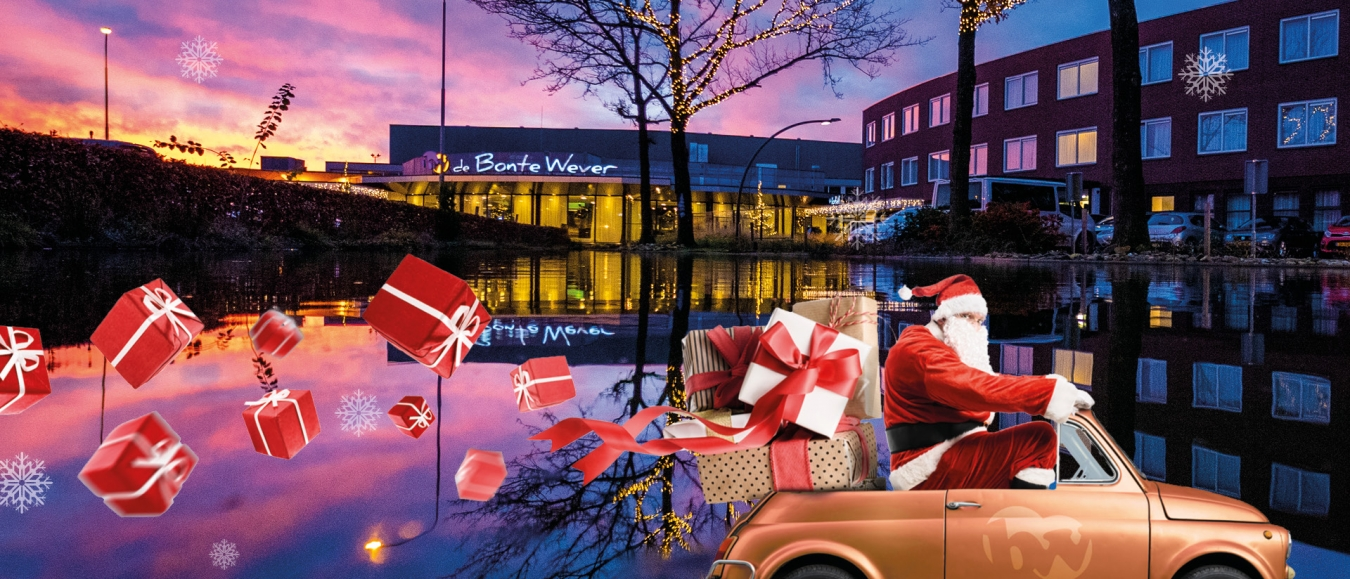 De Bonte Wever start Kerstpakketten Drive-Thru