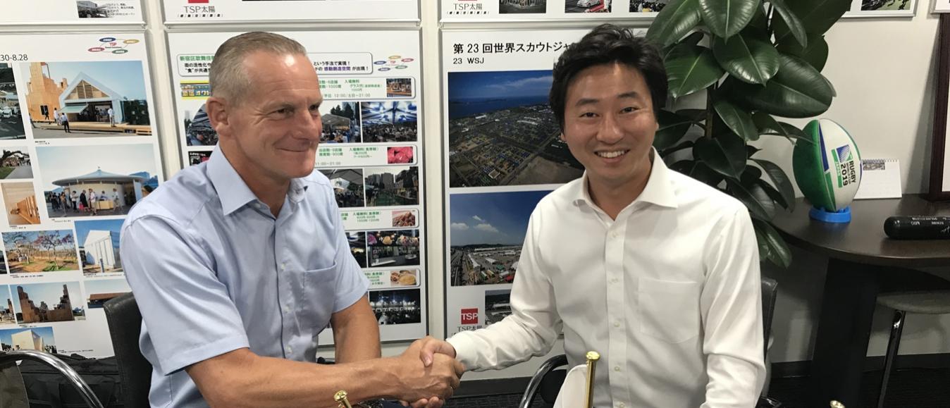 Losberger De Boer naar Tokyo 2020