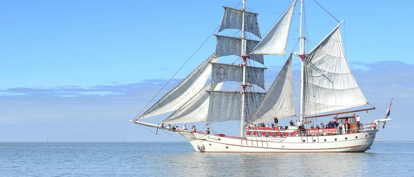 Zeilschip Bounty mag weer varen!