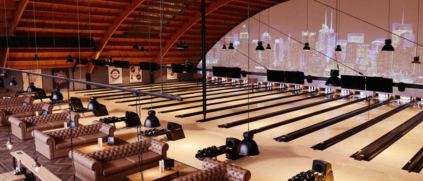Eerste designbowlingbaan opent in Nederland