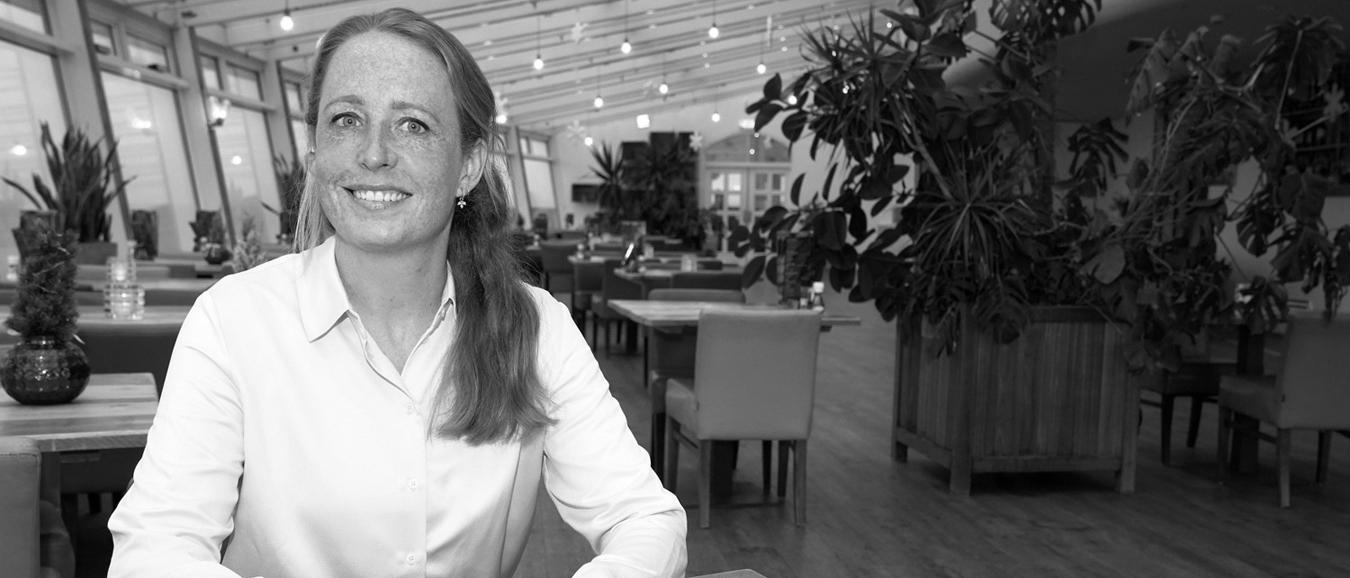 Eventpersonality Marije Pietersma, commercieel manager van De Pier