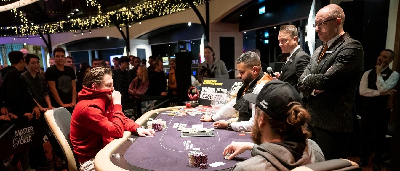 Kevin Paqué winnaar Master Classics of Poker Holland Casino