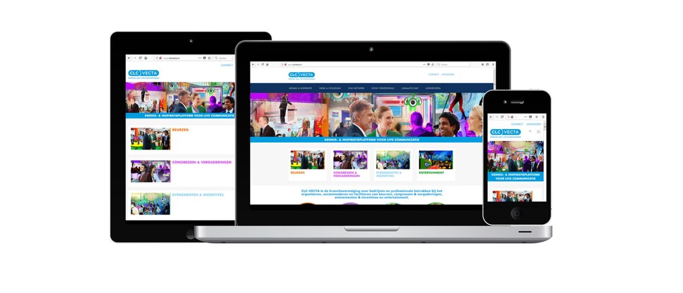 Vernieuwde website CLC-VECTA