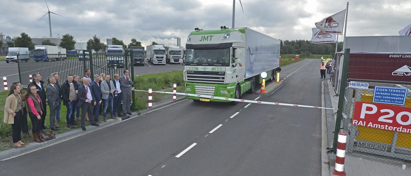 Nieuw bufferterrein RAI Westpoort geopend