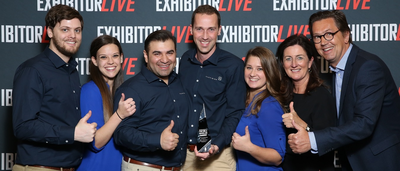 Aluvision wint Award op ExhibitorLive in Las Vegas
