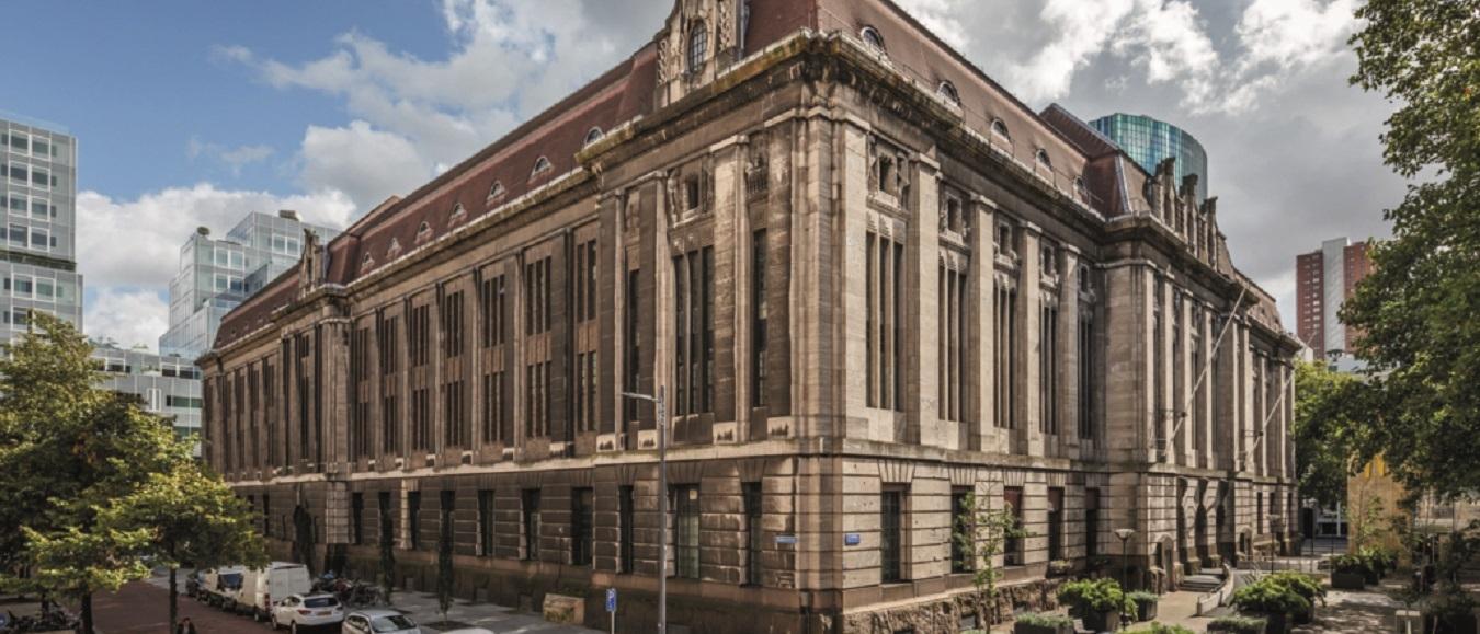 Voormalig Postkantoor Coolsingel hart Rotterdam Architectuur Maand