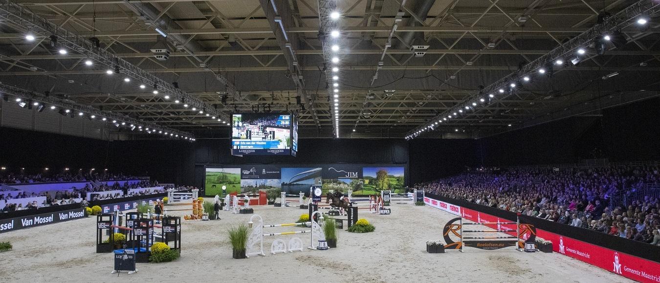 Jumping Indoor Maastricht verzet naar 2022