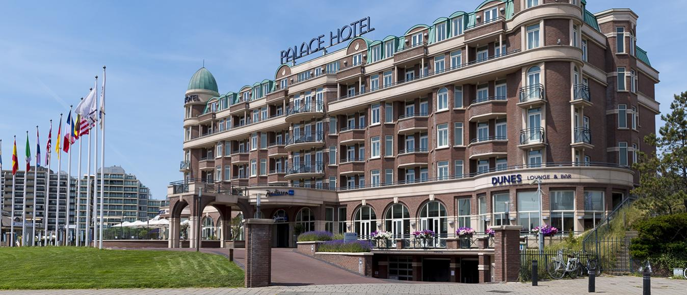 Radisson Blu Palace Hotel: Zakendoen aan zee