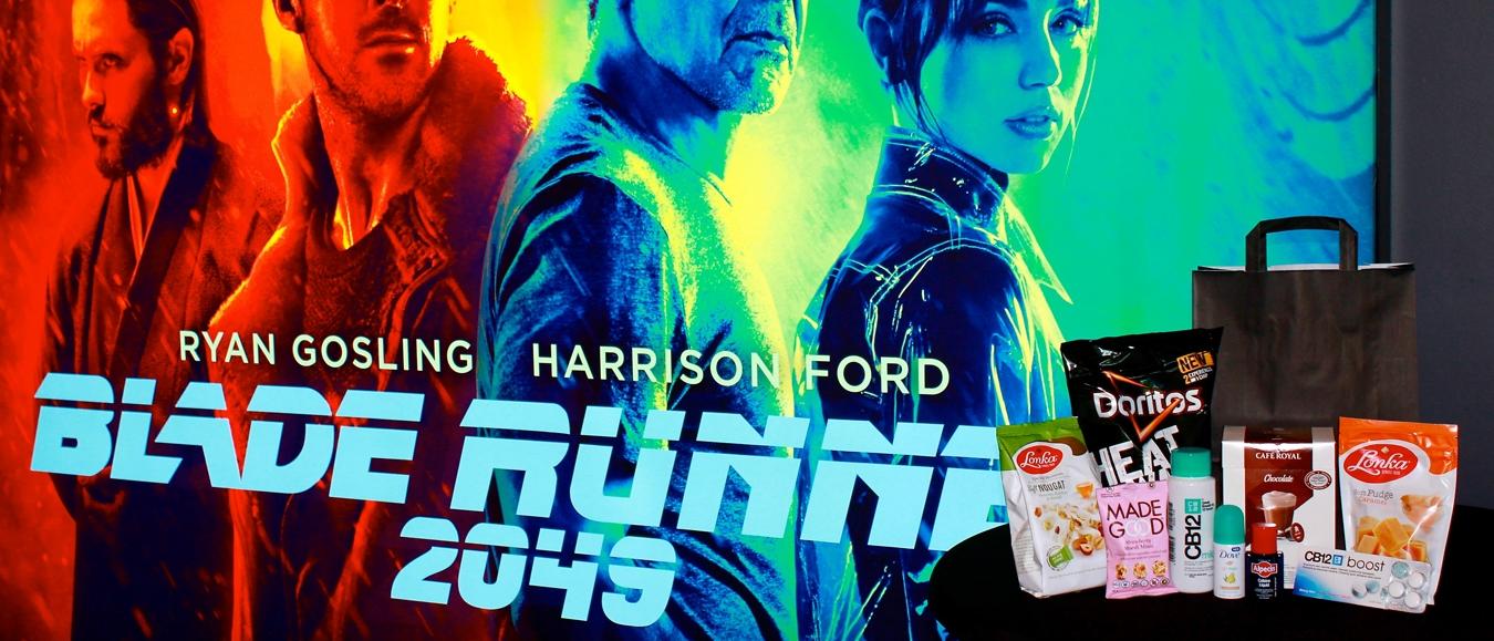 Goodiebags Buro Sambal maken première Blade Runner 2049 compleet