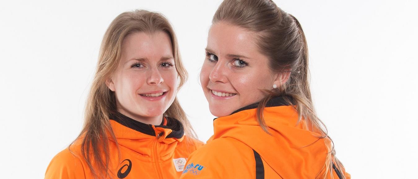 Shorttracksters Yara en Sanne van Kerkhof openen IJsvrij Park Festival