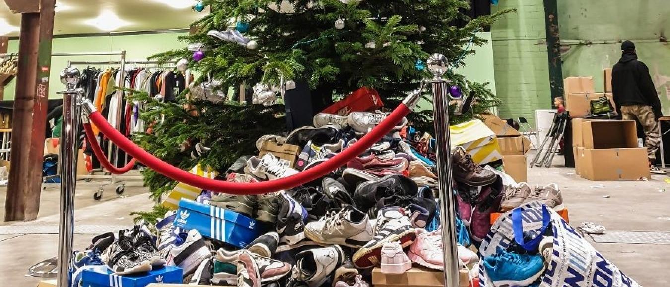 Recordaantal sneakers opgehaald tijdens Sneakerness