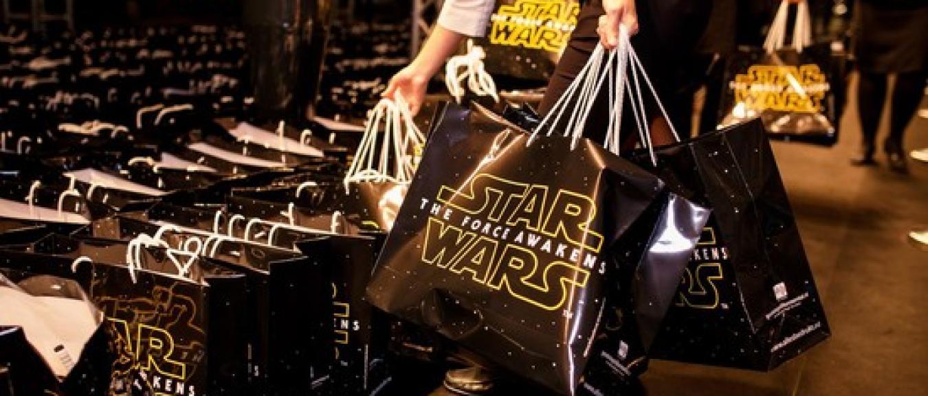Buro Sambal zorgt voor museumstuk met Star Wars goodiebag