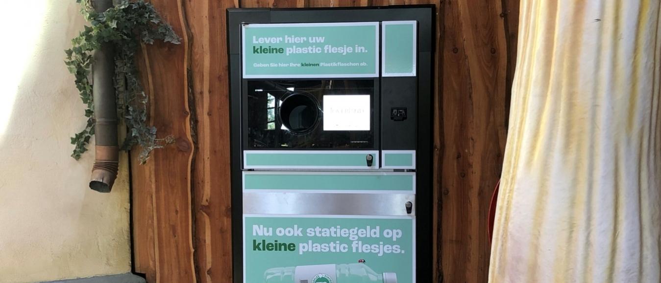 Statiegeldflessen recyclen bij Attractiepark Toverland