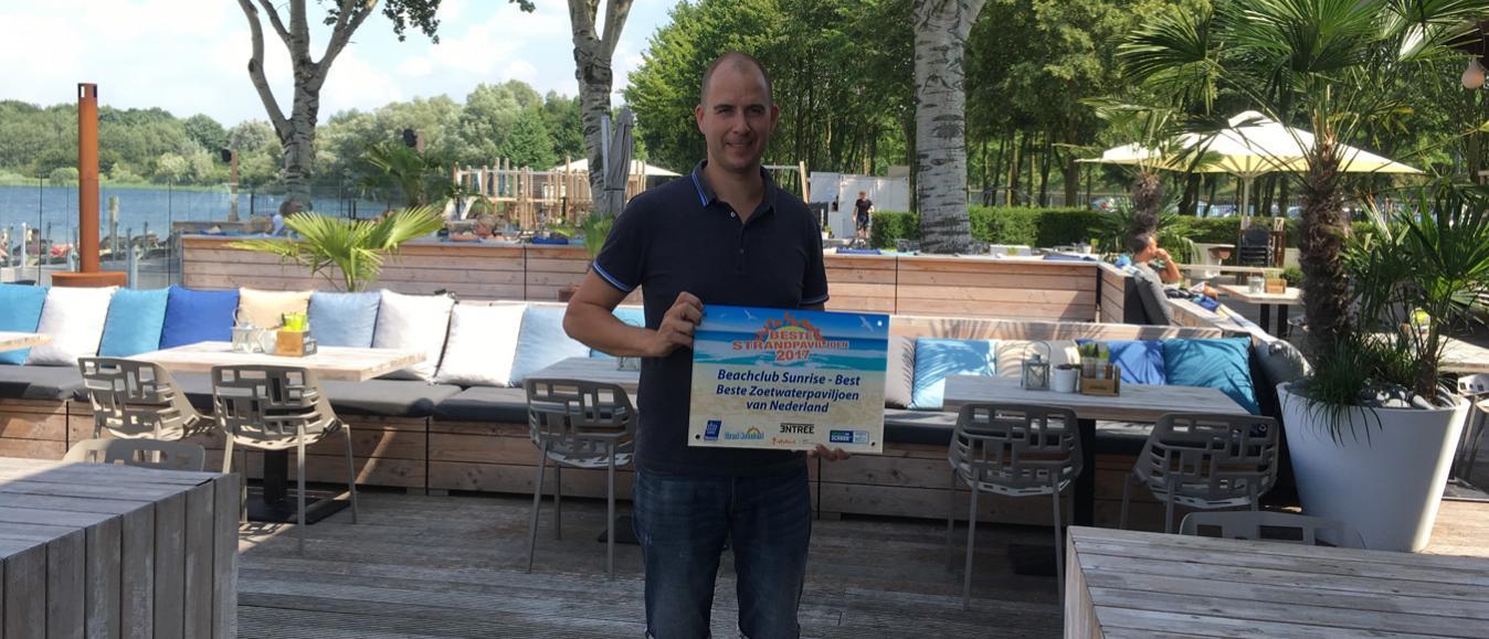 Beachclub Sunrise beste zoetwaterpaviljoen 2017