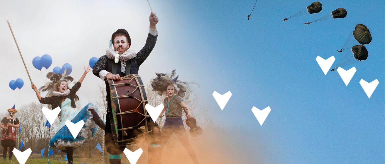 Zuiderwaterlinie Events en Lion Event Support organiseren De Sprong