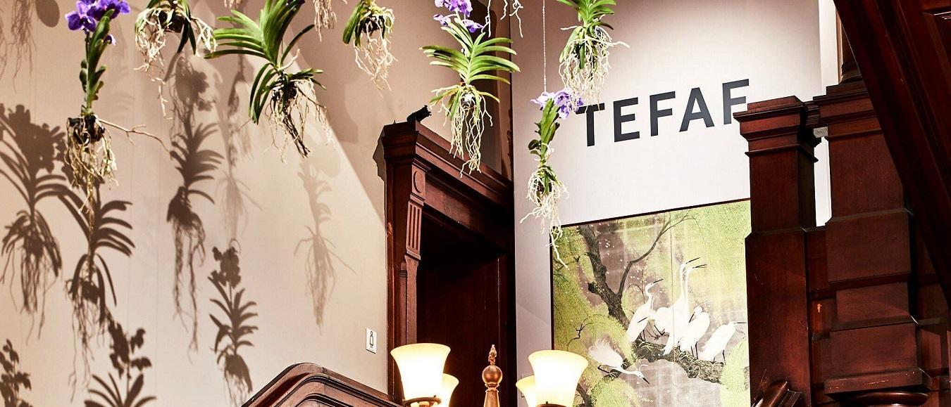ten Kate flowers & decorations decoreert TEFAF NY Fall