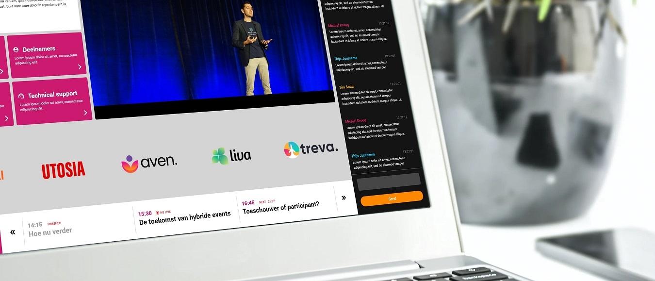 Transmisión Livestreams van Invitado: wel 250 sessies tegelijkertijd!