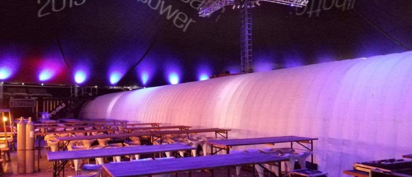 QuickSpace's Tunnel Dome blijkt groot succes!