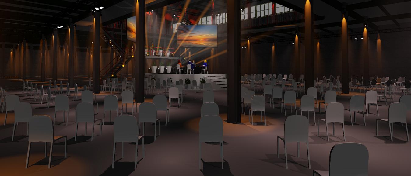 SugarCity Events maakt 1,5 meter-evenement visueel