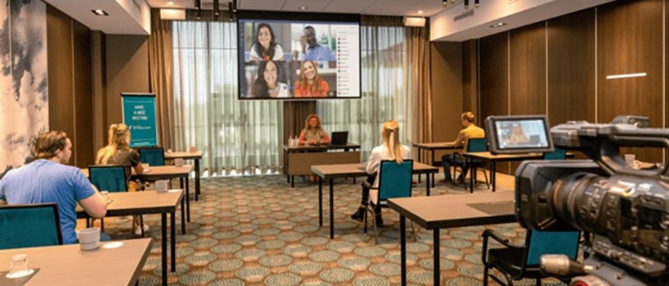 Van der Valk introduceert eigen online platform voor hybride evenementen