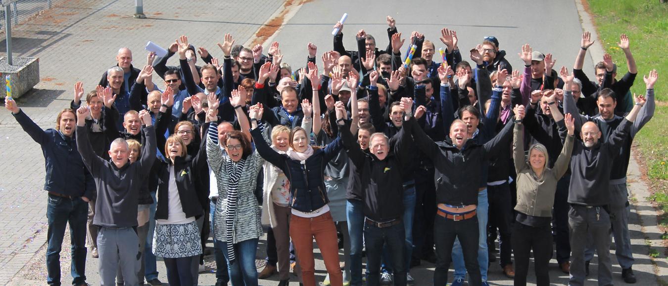 Veldeman medewerkers leggen 100.000 km af