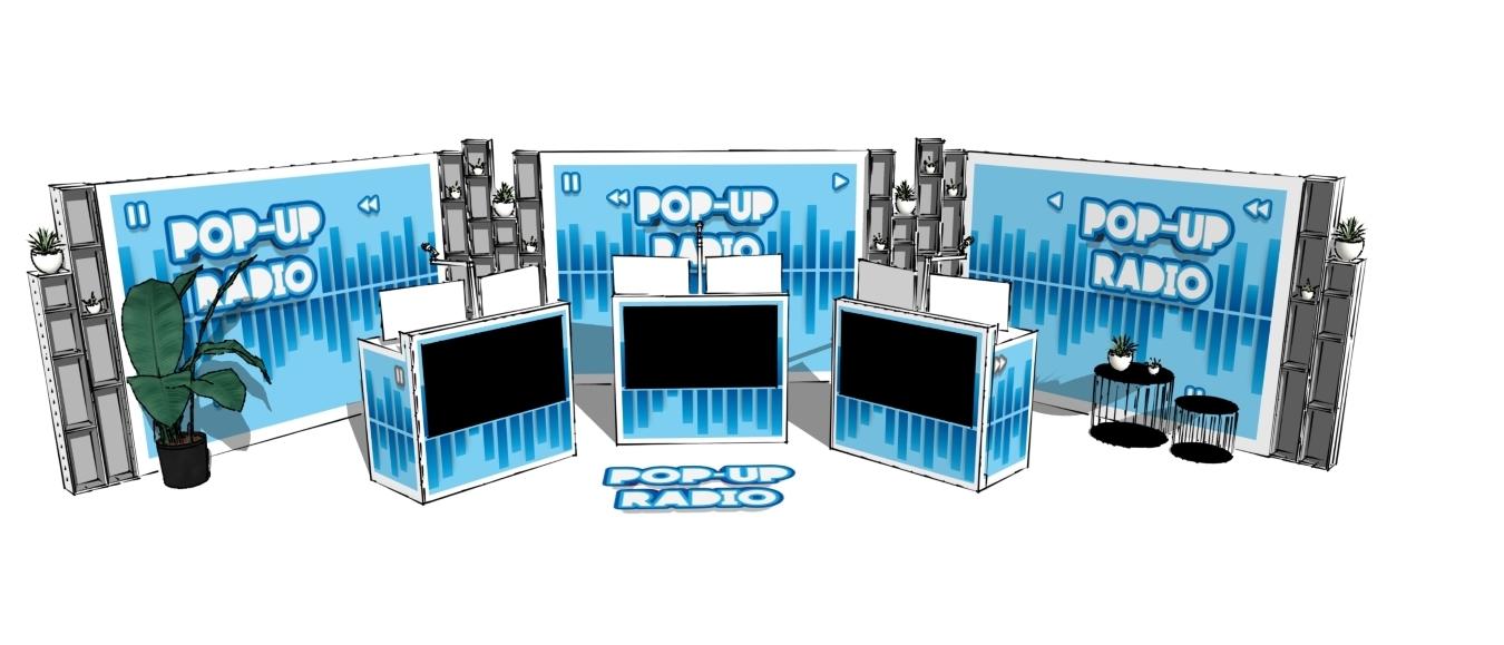 Pop-Up Radio lanceert nieuw online radio concept