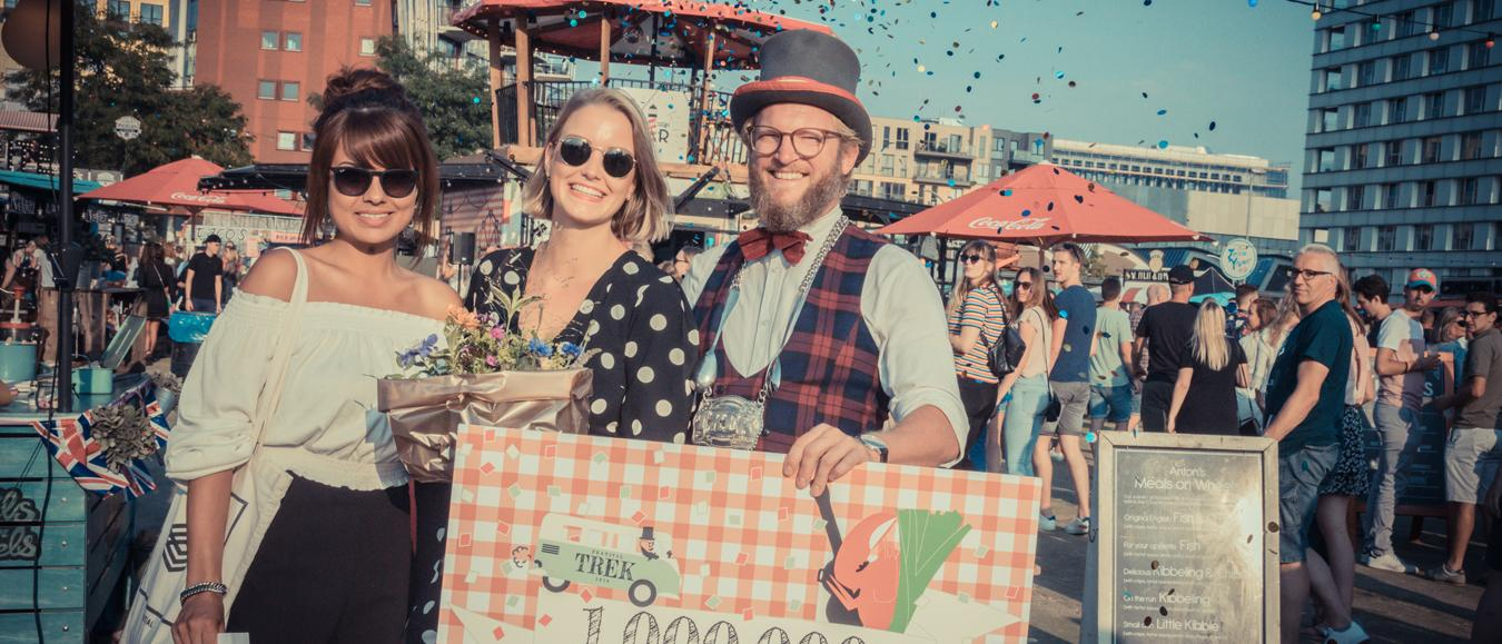 Miljoenste bezoeker voor food festival TREK