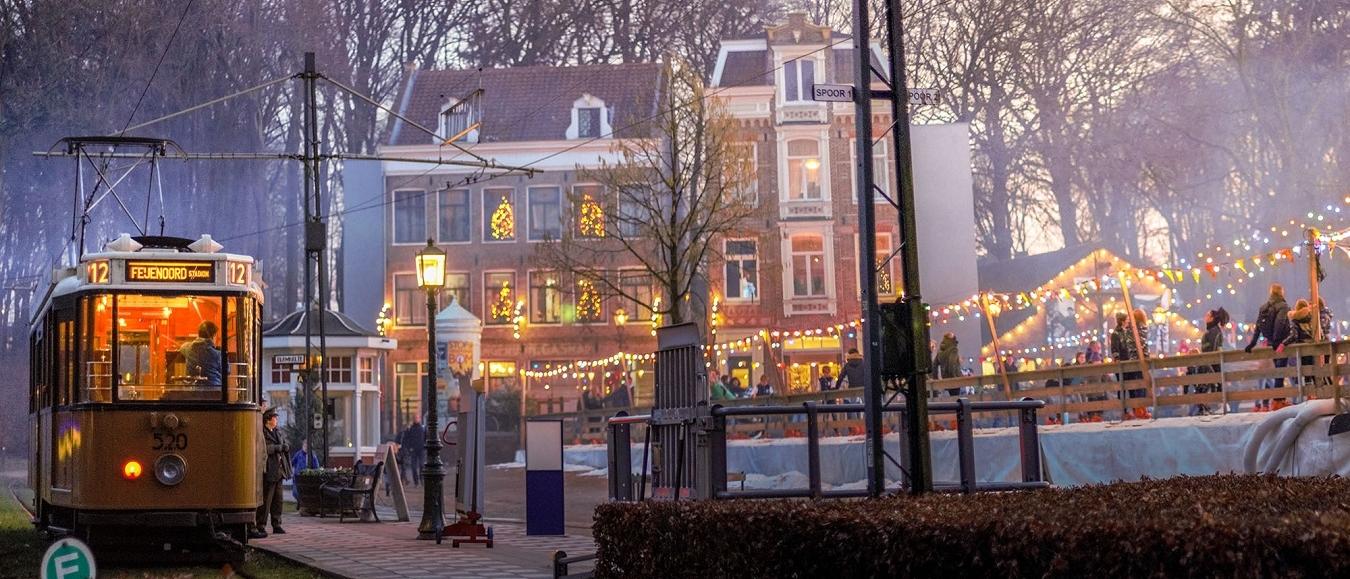 Kerstpakketshoppen in het Nederlands Openluchtmuseum