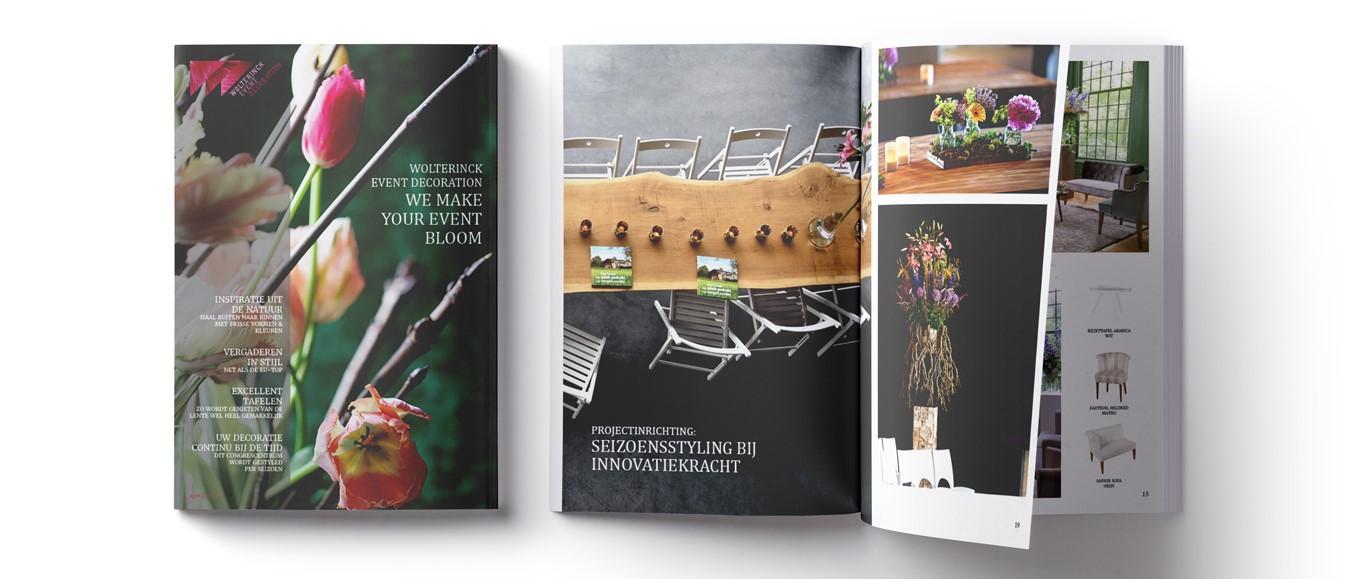 Groene inspiratie: Wolterinck Event Decoration lanceert magazine