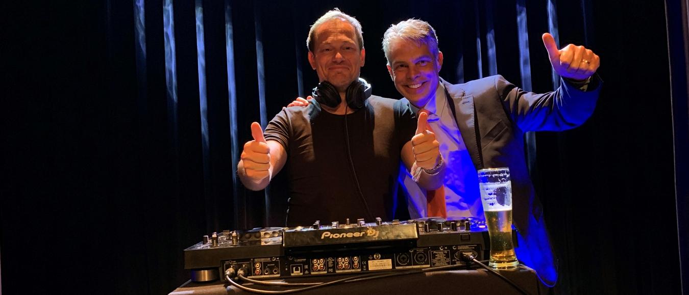 Yuri van Geest en Maurice van der Kant