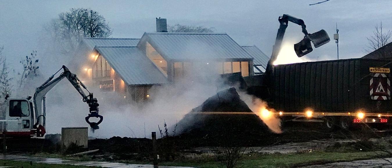 'Smokey business' bij Zwier