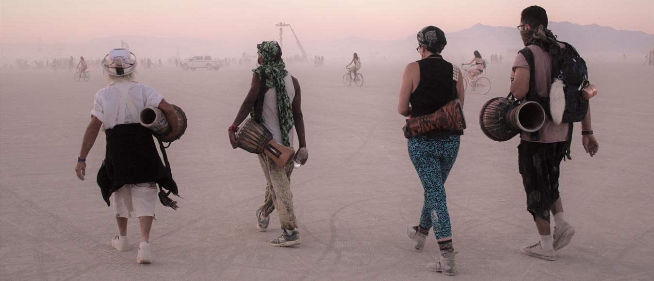 Burning Man gaat virtueel