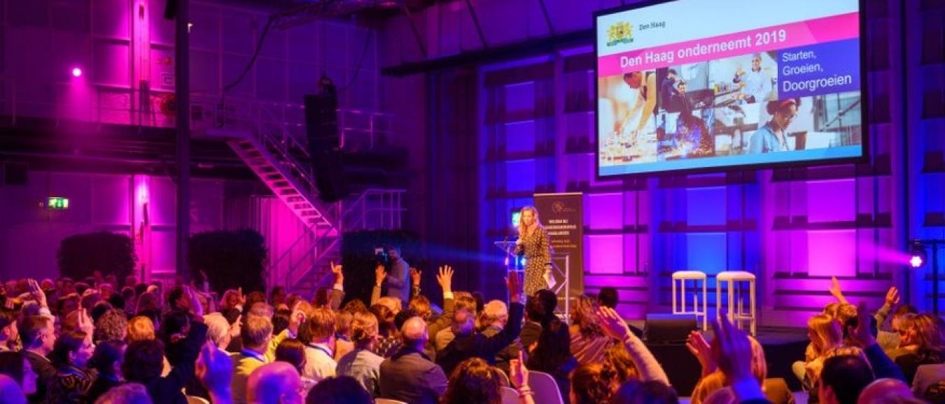 Den Haag Onderneemt 2021 in Fokker Terminal