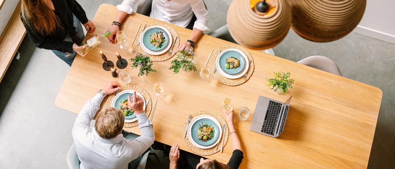 Huis vol Smaak organiseert online kerstdiner voor bedrijven