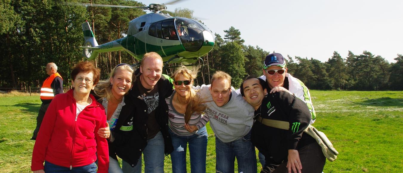 Helikopterdropping: een spannend en spectaculair uitje!