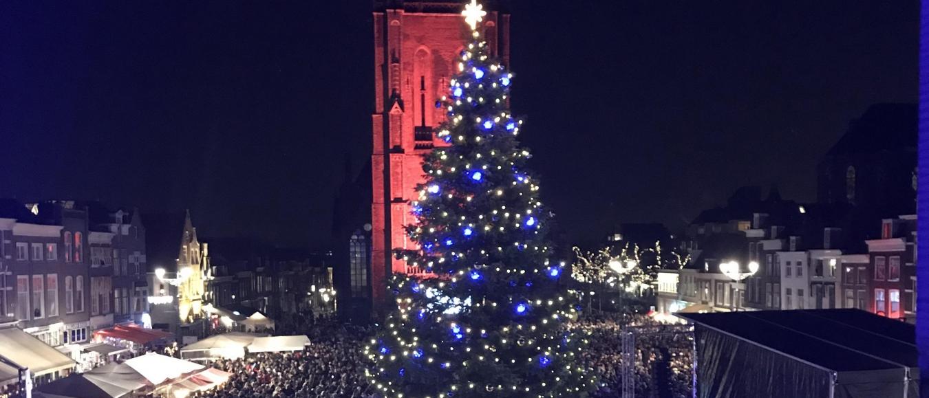 Lichtjesavond Delft een logistiek succes!