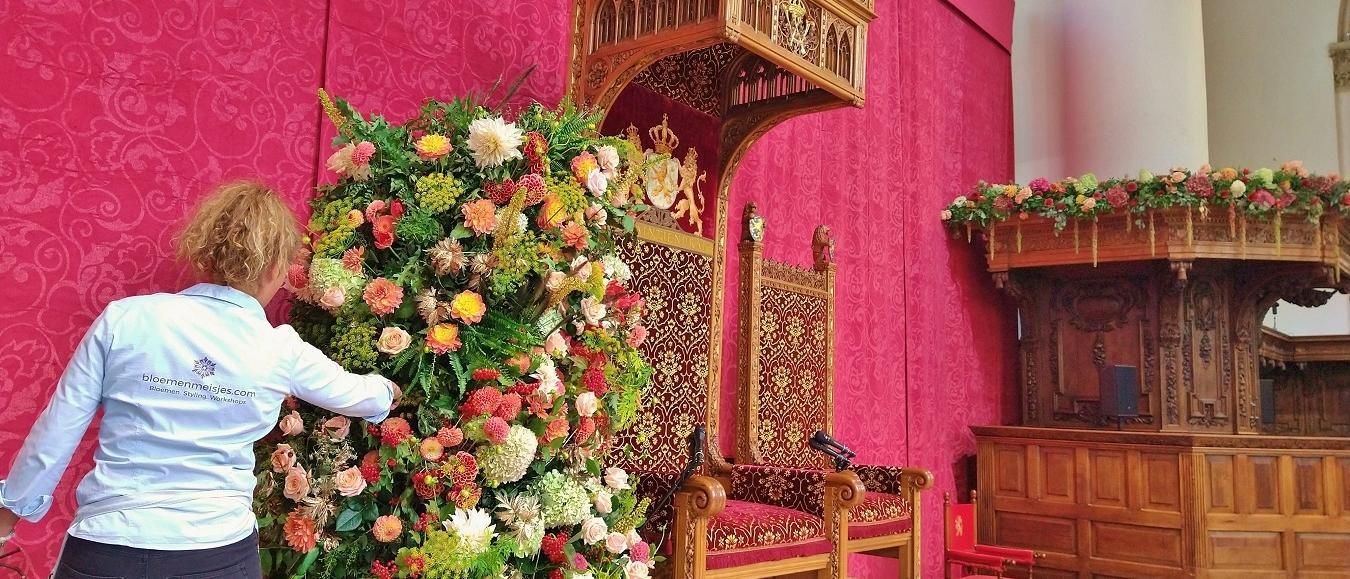 Duurzaam bloemstilleven tijdens Prinsjesdag