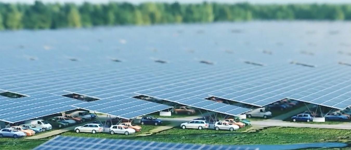 Solarfields realiseert op Lowlands grootste solar carport ter wereld