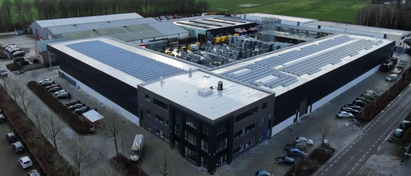 Van Ham Tenten & Podia opent energieneutrale locatie