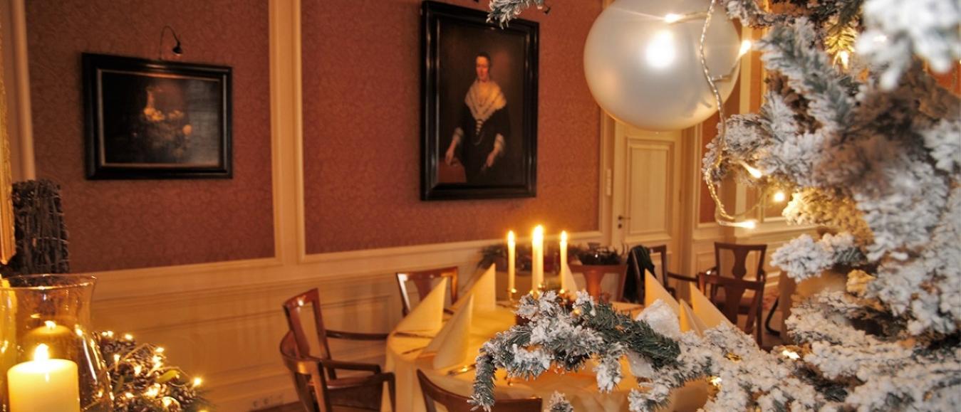Winterse arrangementen bij Kasteel De Vanenburg