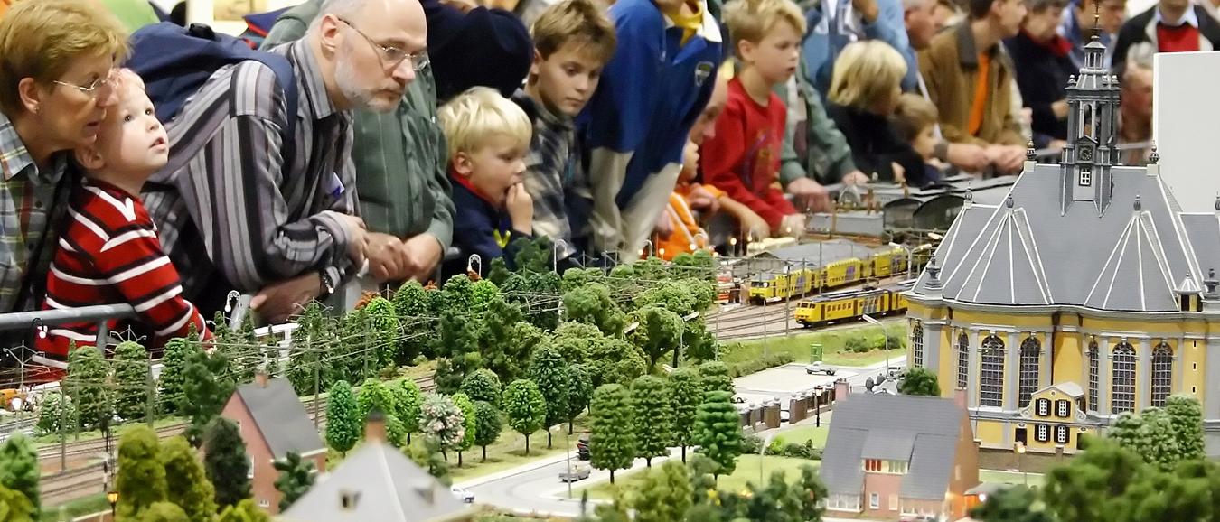 Honderdduizend treinen in Jaarbeurs