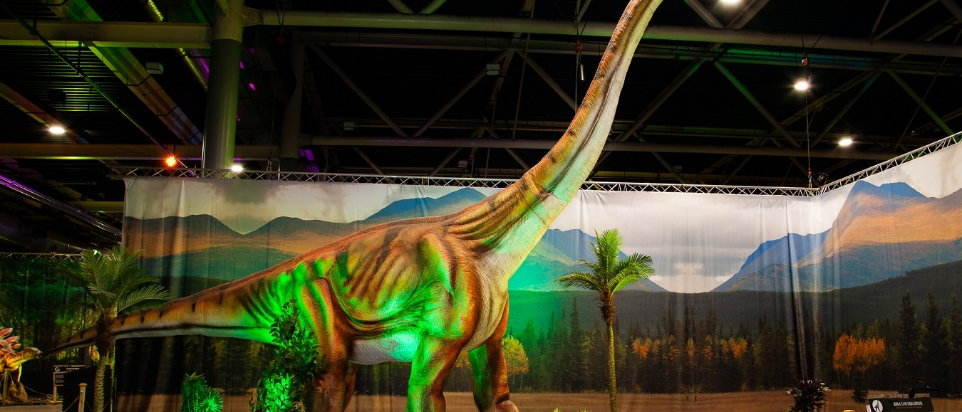 Nieuwe dinosaurussen in World of Dinos Jaarbeurs Utrecht