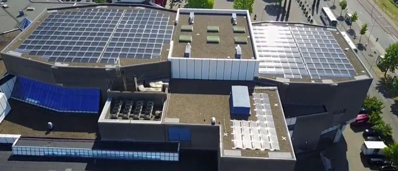 MECC plaatst ruim 1000 zonnepanelen