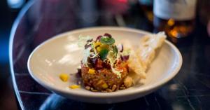 Café Ter Marsch lanceert winnendevegetarische steak tartare
