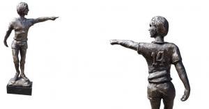 Bronzen sculpturen Johan Cruijff goud waard