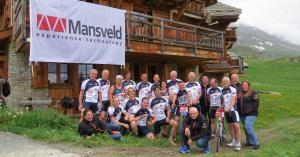 Mansveld team verbreekt record tijdens Alpe d'HuZes 2018