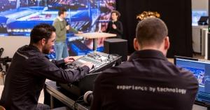 Techniek in studio bij online evenement