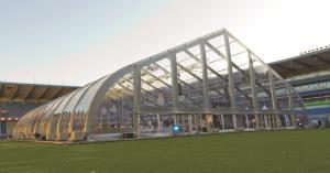 Veldeman bouwt tenten op unieke eventlocaties