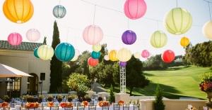 Creëer meer sfeer met lampionnen op huwelijk of event