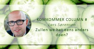 #Komkommercolumn: Lars Sorensen